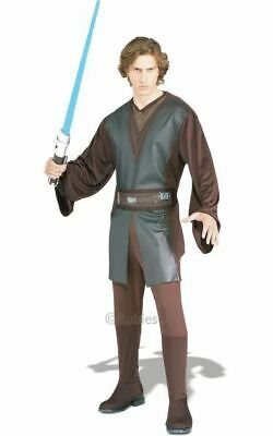 RD Mens Costume Fancy Dress Licensed Star Wars Anakin Skywalker Classic 888794