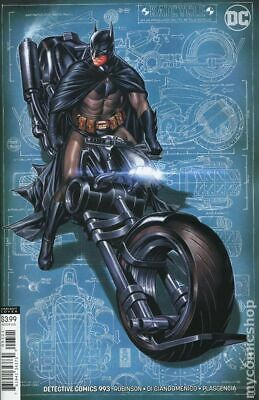 Detective Comics #993B 2019 Brooks Variant NM Stock Image