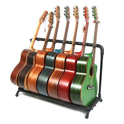 Guitar Stand 3 7 9 Holder Folding Organizer Acoustic Electric Guitar Floor Stand