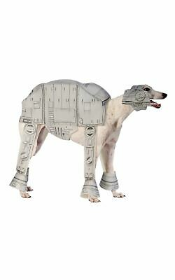 AT-AT Star Wars Dog Costume Pet Fancy Dress Outfit Disney Dressup