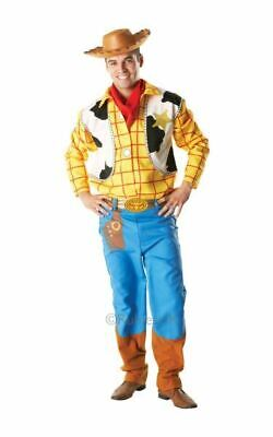 SALE! Adult Disney Toy Story Cowboy Woody Mens Fancy Dress Costume Party Outfit