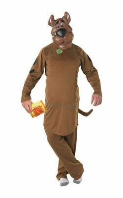 NEW Adult 70s Cartoon Scooby Doo Mens Halloween Party Fancy Dress Costume Outfit