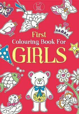 First Colouring Book For Girls (Buster Books),Emily Golden Twomey
