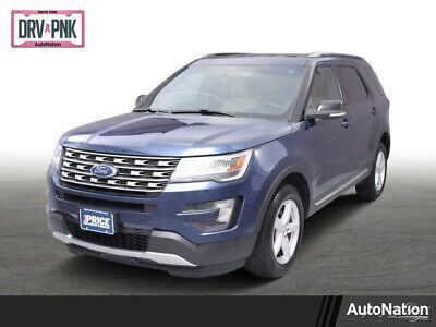 2016 Ford Explorer XLT 2016 Ford Explorer XLT Four Wheel Drive 3.5L V6 24V Flex Fuel Vehicle Automatic