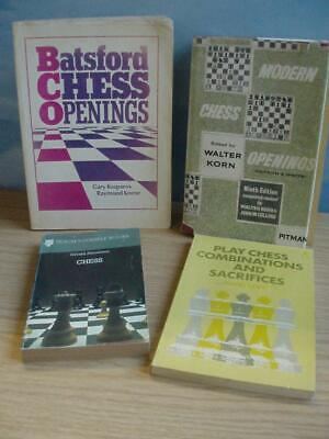 Collection of Four CHESS INSTRUCTION BOOKS.