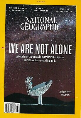 National Geographic March 2019  We are not alone
