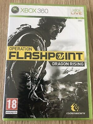 Operation Flashpoint Dragon Rising Xbox 360 Français Neuf Blister New Sealed