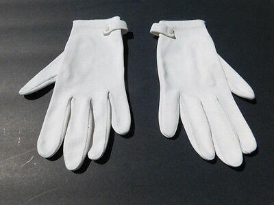 *Designer Ladies Cream Nylon Gloves Unlined Size 6.5