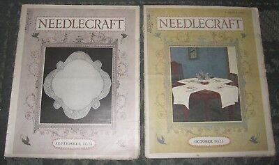 2 September 1921 And October 1921 Publications - Needlecraft