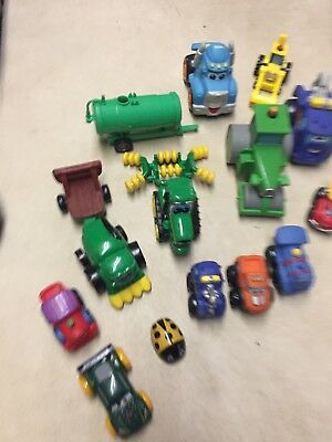 e95a1d10f TODDLER TOY TRUCKS And Tractors Lot