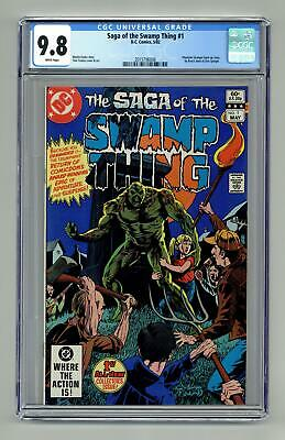 Swamp Thing (2nd Series) #1 1982 CGC 9.8 2015796006