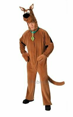 Licensed 70s Deluxe Scooby Doo Mens Halloween Fancy Dress Costume Party Outfit
