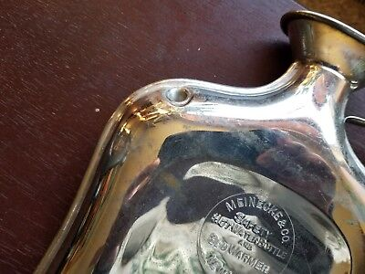 Rare Pristine Iv Solution Meinecke & Co 1915 Antique Safety Hot Water Bottle