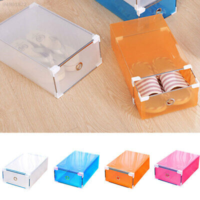 A4E1 Transparent Foldable Box Storage Boxes Household Supplies Useful