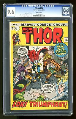 Thor (1st Series Journey Into Mystery) #194 1971 CGC 9.6 1127417008