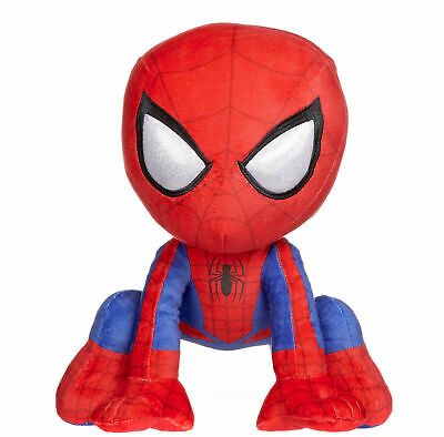 """New 12"""" Spider-Man Far From Home Crouching Spiderman Soft Plush Toy"""