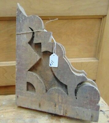 Antique Wooden Corbel Victorian-As-Is #11