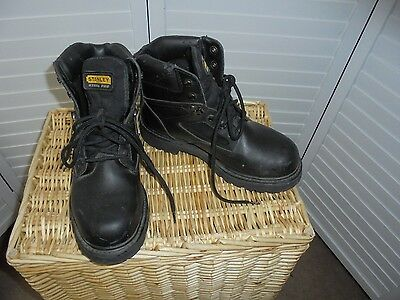 b9f77d62293 STANLEY MENS SIZE 7W Steel Toe Work Boots