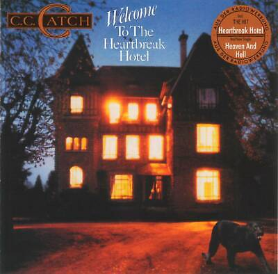 C.C. CATCH - WELCOME TO THE HEARTBREAK HOTEL (1986) Disco CD Jewel Case+GIFT