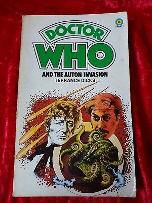 Doctor Who And The Auton Invasion Terrance Dicks BBC Target John Pertwee 1978