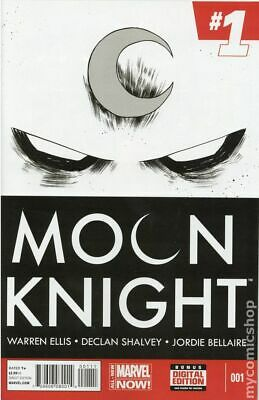 Moon Knight (5th Series) 1A 2014 Shalvey Variant VF Stock Image