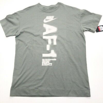 828b3441 NIKE AIR FORCE 1 Mens Large Oversized Heavyweight T Shirt AF1 (773 ...