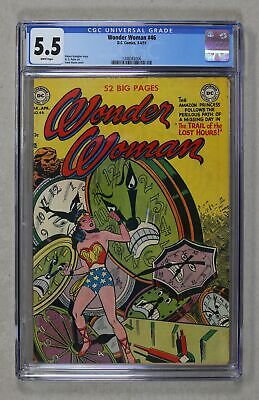 Wonder Woman (1st Series DC) #46 1951 CGC 5.5 1348082006