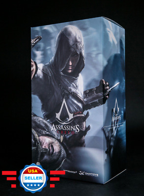 【IN STOCK】Damtoys DMS005 Assassin's Creed 1/6 Altair Altaïr the Mentor Figure