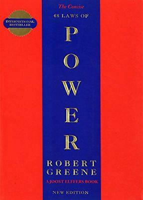 The Concise 48 Laws Of Power by Robert Greene, NEW Book, FREE & Fast Delivery, (