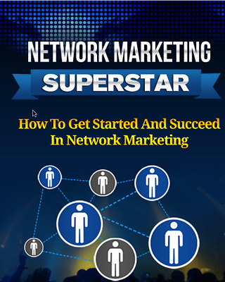Network Marketing Superstar  with resell right plus 10 free eBooks - PDF- Format