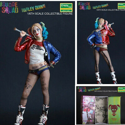 New Crazy Toys DC Comic Harley Quinn 12'' Action Figure Model 1/6 Suicide Squad