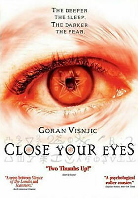 Close Your Eyes (DVD, 2004) - Brand New