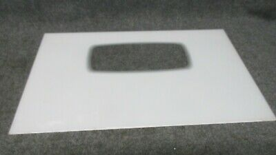 """WB36X5793 GE RANGE OVEN OUTER DOOR GLASS WHITE 29 9//16/"""" x 18 3//4/"""""""