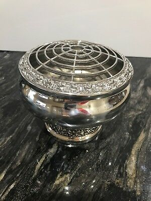 Lanthe of England Silver plated rose bowl in excellent condition