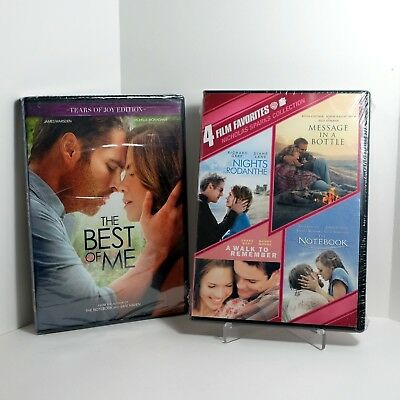 The Best of Me DVD + Nights in Rodanthe/Message in a Bottle/A Walk to Remember