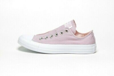 7699c5f00d CONVERSE WOMEN'S CHUCK TAYLOR ALL STAR SLIP 164304C PLUM CHALK/WHITE (msrp:  $55