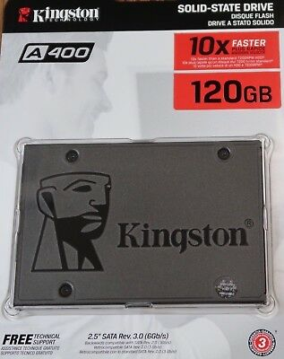 "NEW Kingston A400 120GB SATA III 2.5"" Internal Solid State Drive X SA400S37/120G"