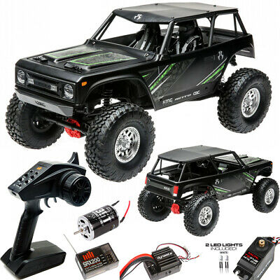 Axial AXI90074T2 1/10 Wraith 1.9 Electric 4WD Off-Road RTR Rock Crawler Black