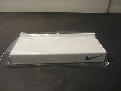 02feab5208e24 VINTAGE 1990 NIKE Swoosh Tin Baby Shoe Box Pink & Blue Foot Locker ...