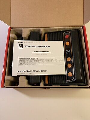 Atari Flashback 9 Classic Console Video Game 110 Built In Games Frogger