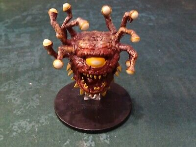 BEHOLDER ZOMBIE D&D Miniature Dungeons Dragons pathfinder undead lich eye  mad 29