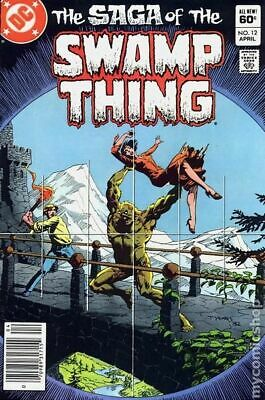 Swamp Thing (2nd Series) #12 1983 VF Stock Image