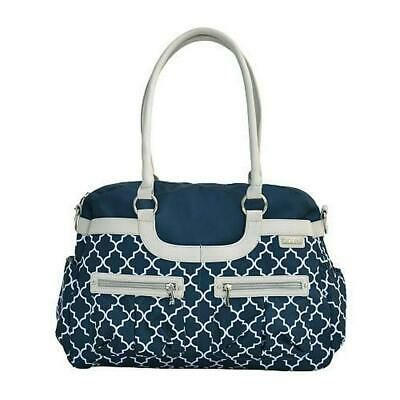 JJ Cole Satchel Diaper Bag - Navy Arbor Free Shipping!