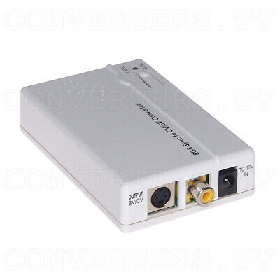 RGB to Video Format Converter   (FREE SHIPPING)  CP-RGBVS