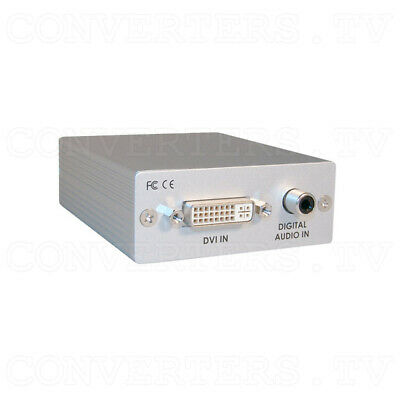 DVI with Digital Audio to HDMI Converter     (FREE SHIPPING)  CP-268