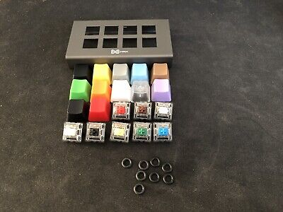 MAX Keyboard Aluminium Mechanical Switch Tester - Gateron + O Ring
