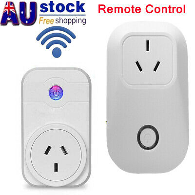 1x 10A Wifi Smart Plug Power Socket Outlet Switch APP for ECHO ALEXA/GOOGLE HOME