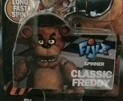Five Nights at Freddy/'s Spinners Classic Freddy Toy Bonnie Toy Freddy Lot Of 3