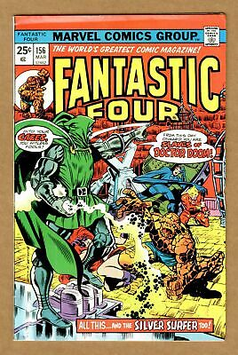 Fantastic Four (1st Series) #156 1975 VG+ 4.5 Low Grade