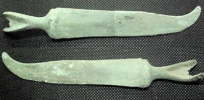 Scarce Bronze Age To Hallstatt Culture Knife - 1000 Bc - Rare